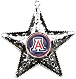 Boelter NCAA Mens NCAA Silver Star Ornament