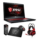 MSI GL72M 7RDX-800 (i7-7700HQ, 8GB RAM, 128GB SATA SSD + 1TB HDD, NVIDIA GTX 1050 2GB, 17.3″ Full HD, Windows 10) Gaming Notebook Review