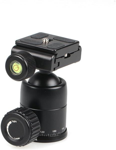 Fotografía y cine compacto trípode rótula de bola para apoyar ...