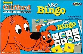 Amazon.com: ABC Bingo, Clifford The Big Red Dog, Scholastic ...
