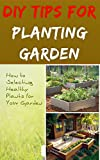DIY Tips For Planting Garden - How to Selecting Healthy Plants for Your GardenPREVIEW:Now that you have a garden bed filled with rich soil, it is time to start planting in it! From here, you have two choices. You can either plant seeds or pur...