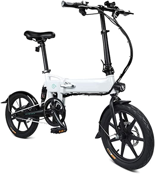 Glomixs - Bicicleta Plegable eléctrica, 1 Bicicleta Plegable ...