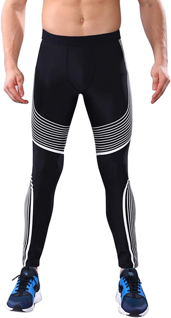 CieKen Compression Cool Dry Sports Tights Man Workout Leggings Fitness Gym Running Yoga Athletic Pants