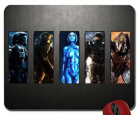 Video Games Cortana Halo Master Chief Odst Reach Collage Arbiter 1920x1080 Wallpaper Mouse Pad