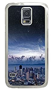 Personalized custom Samsung S5 cover Awesome City Best PC Transparent Custom Samsung Galaxy S5 Case Cover