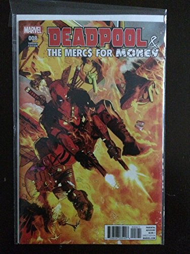 Deadpool Mercs for Money #8 Variant 1:25 Incentive 2017 Marvel Comic Book. NM Condition (Deadpool And The Mercs For Money 8)