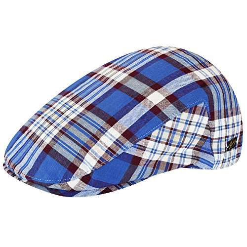 Bailey of Hollywood Mens Mastron Checked Ivy Cap