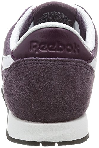 Meteorite Grey White Slim Cl Nylon Hv Sneakers Purple WoMen Reebok nZvqxCZ