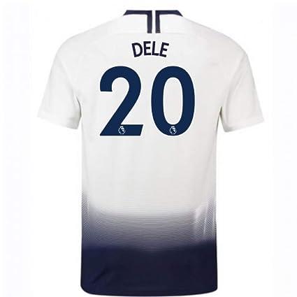 the best attitude 924ae c522c Amazon.com : 2018-2019 Tottenham Home Nike Football Soccer T ...