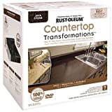 Cabinet Transformations Rust-Oleum Countertop Transformations Kit, Java Stone