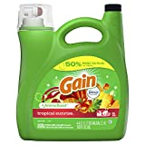 Gain Liquid Laundry Detergent - Tropical Sunrise Scent, 4.43 L