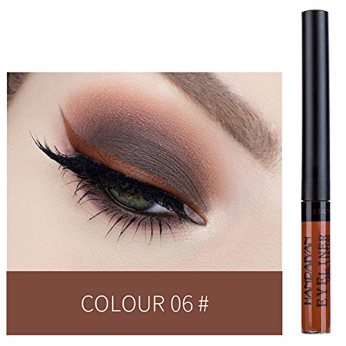 (Loyalt Metallic Shiny Smoky Eyes Eyeshadow Waterproof Glitter Liquid Eyeliner)