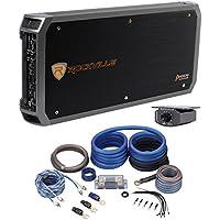Package: Rockville RXD-M5 Competition 8000 Watt Mono Amplifier + Rockville RWK0CU 0 Gauge 100% Pure OFC Copper 2 Channel Complete Car Amplifier Installation Kit