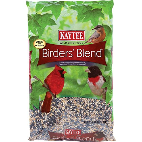 Kaytee 100033756 Birders' Blend, 8-Pound Bag, red