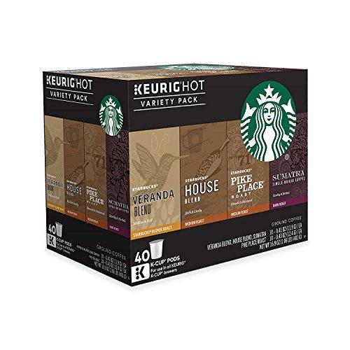 Keurig Starbucks Coffee 40-ct. K-Cup Pods Variety Pack