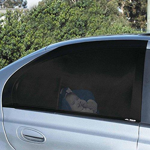 4 Pezzi Visiera Parasole Per Auto Laterale Auto Universale Finestra Laterale Tenda Da Sole Auto Zanzariera Per I Bambini Del Capretto Sano Nero Auto Tende Per Auto Camion
