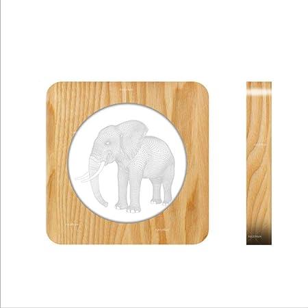 shixiaodan Lámpara de luz LED Lámpara de Mesa led Elefante Novedad ...