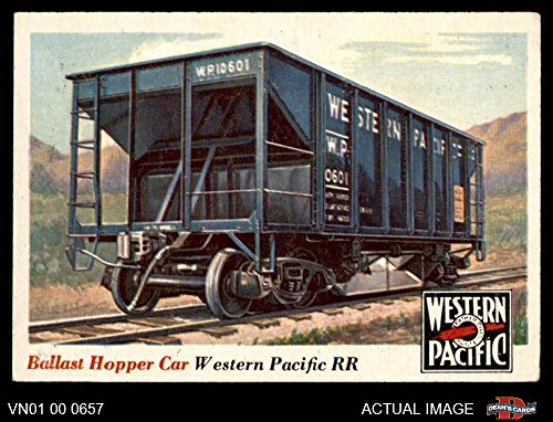 1955 Topps Rails & Sails # 29 Ballast Hopper Car (Card) Dean's Cards 5 - EX 3209169 ()