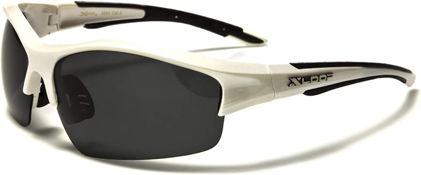 X-Loop Lunettes de Soleil // Sport Polaris/ées UVA et UVB Protection UV400 Unisex et Verres Polaris/ées UV400