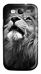 Samsung Galaxy S3 I9300 Cases & Covers - Majestic Lion Portrait Custom PC Soft Case Cover Protector for Samsung Galaxy S3 I9300