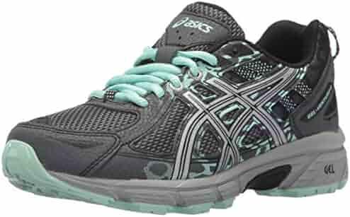 ASICS Women's Gel-Venture 6 Running-Shoes, Castlerock/Silver/Honeydew, 7.5