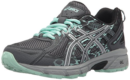 - ASICS Women's Gel-Venture 6 Running-Shoes,Castlerock/Silver/Honeydew,11.5 Medium US