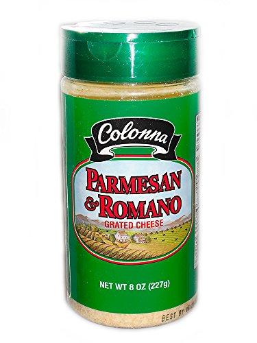 Colonna Parmesan & Romano Grated Cheese, 8 oz