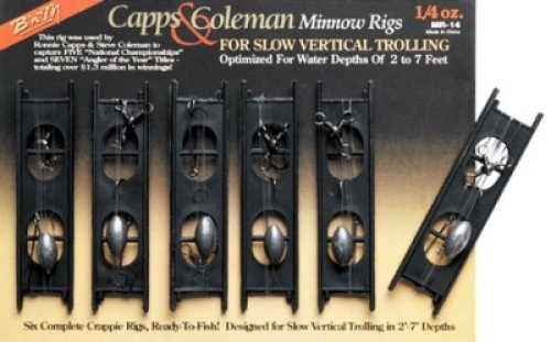 B&M CAPS & COLEMAN MINNOW RIG For Sale