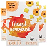Wickedly Prime Organic Herbal Tea, I Heart Honeybush, 15 Count (Pack of 3)