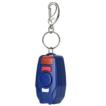 Qinlorgo Llavero Personal de la Alarma de la Emergencia de ...