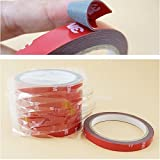 3M Car Sticker Auto Double Foam Faced Adhesive Tape Vehicle Double Sides Sticker Tissue Tape Car Decals Accessories Decoration