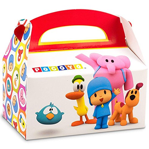 Pocoyo Party Supplies - Empty Favor Boxes (4) - Pocoyo Costume