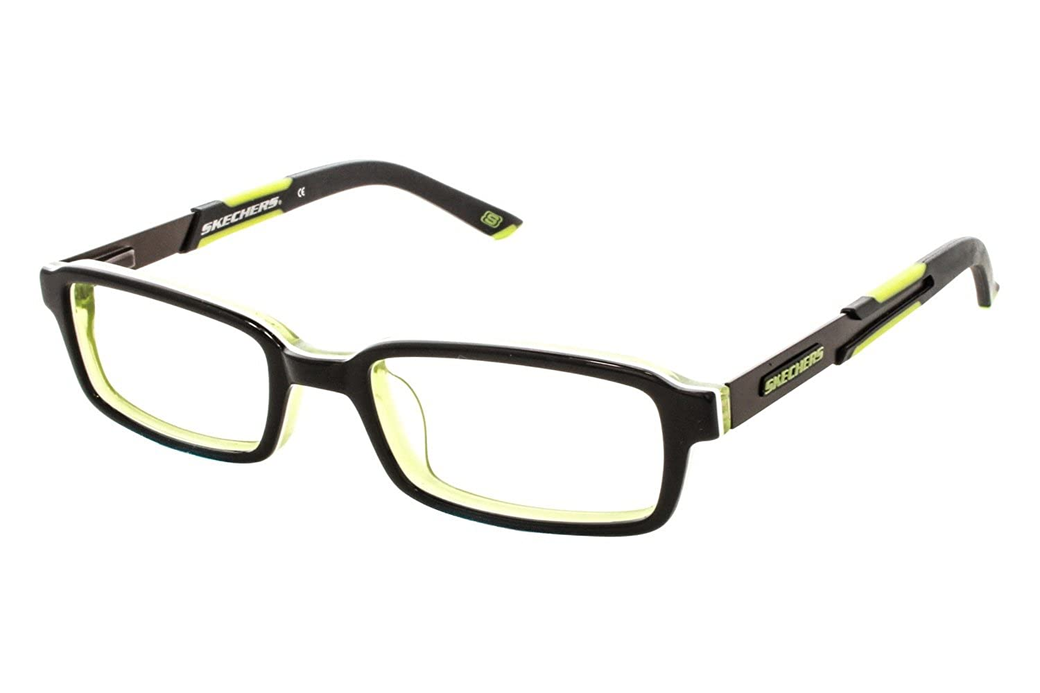 Amazon.com: SKECHERS Eyeglasses SK 1027 Black Green 44MM: Clothing