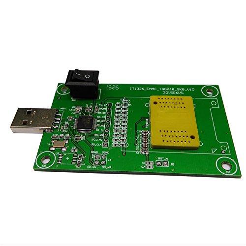 eMMC153//169 test socket USB Reader IC size 14x18mm nand flash test BGA153//169