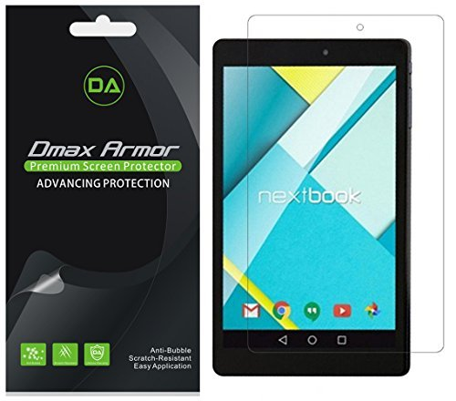 3-Pack Dmax Armor HD Clear Screen Protector for Nextbook Flexx 11A
