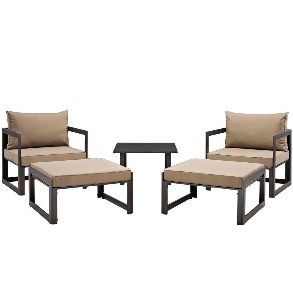Amazon.com: 5 piezas para patio al aire libre, sección S ...