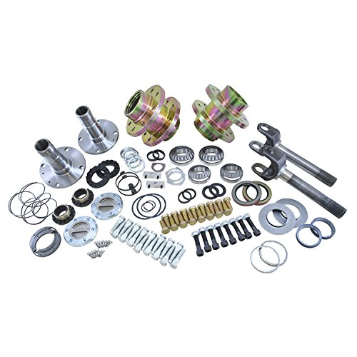 Hub Differential (Yukon (YA WU-07) Spin Free Locking Hub Conversion Kit for Jeep TJ/XJ/YJ Dana 30 Differential)