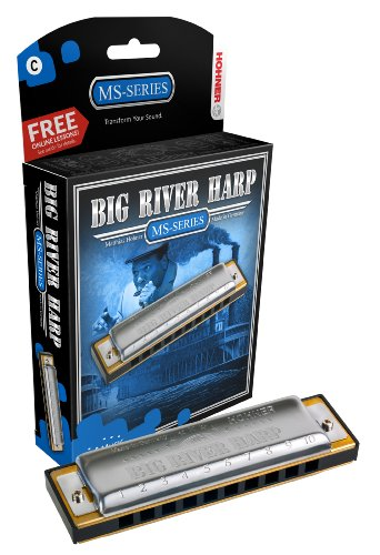 Hohner Big River Harmonica, Key of C