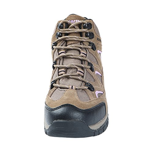 Northside Women's Snohomish Hiking Boot, Tan/Periwinkle, 7 M US by Northside (Image #4)