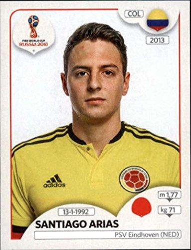 2018 Panini World Cup Stickers Russia #636 Santiago ()