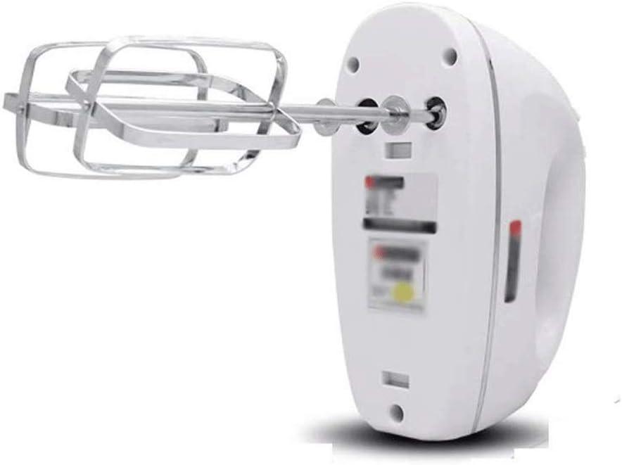 SHYOD Electric hand blender, 5-speed manual mixer with hand-held kitchen blender, including blender (white)