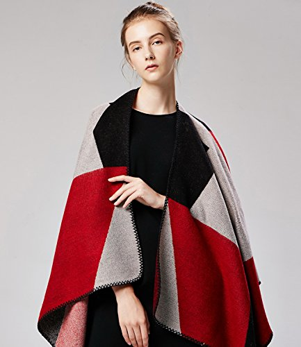 Series red 9 donna Poncho Medeshe xnaWE7YZEq