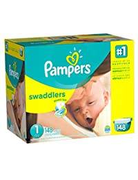 Pampers Swaddlers Diapers Size 1, 148 Count BOBEBE Online Baby Store From New York to Miami and Los Angeles