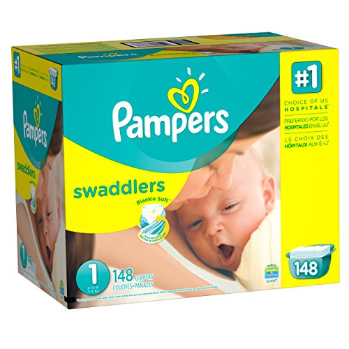 pampers-swaddlers-diapers-size-1-148-count
