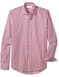 Men's Slim Fit Supima Cotton Dress Casual Shirt (Discontinued Patterns)