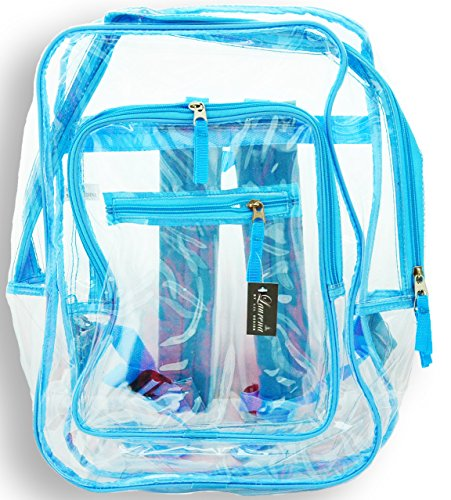 Clear Plastic Through Transparent Backpack product image