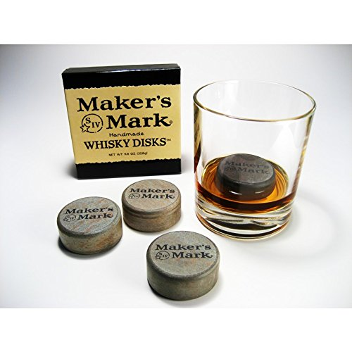 makers-mark-whiskey-disks-set-of-4-set-of-4