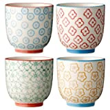 Ceramic Cup Set (Set of 4)