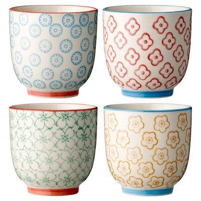 Ceramic Cup Set (Set of 4)