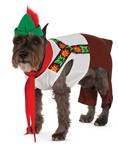 Lederhosen Hound for Pet, Large -